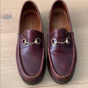 e452dd5320c Women s Vintage Gucci Loafers on Poshmark